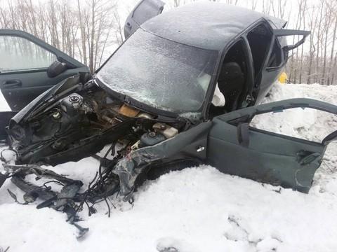 ВДТП вЧувашии умер шофёр изТатарстана
