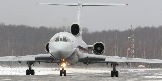 Самолет Минобороны Ту-154 сартистами ансамбля Александрова упал вЧерное море