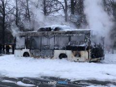 """С автопортала ZaRulem.ws: """"Этот же самый автобус АО877 21 задымился в мае на конечной остановке в микрорайоне """"Солнечный"""".Снег и лед уносят жизни водителей Хватит погибать на дорогах! Полоса безопасности"""