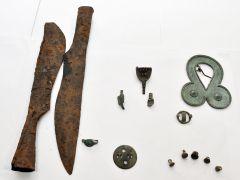 DSC_0150.JPGНовочебоксарец нашел клад с предметами старины на заброшенной дороге в Марпосадском лесу Калейдоскоп Дары