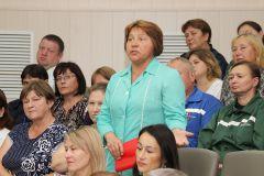 Коллектив ПАО «Химпром» встретился с представителями власти в рамках Единого информдня Химпром