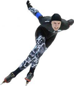 мастер спорта России Тимур Карамов Скорость, лед, победа конькобежный спорт