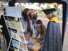 В день города в Новочебоксарске работали литературные дворики День города Новочебоксарск Литературный дворик