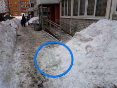 Фото Ирины ХАННАПрошлогодний снег ждет весны У нас зазвонил телефон