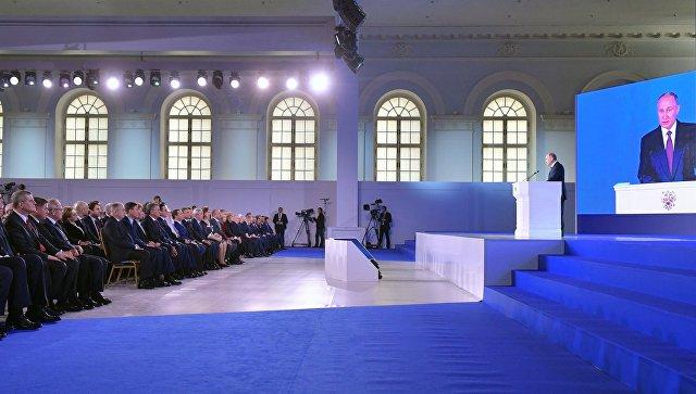Письмо В.Путина Федеральному собранию побило рекорд по продолжительности